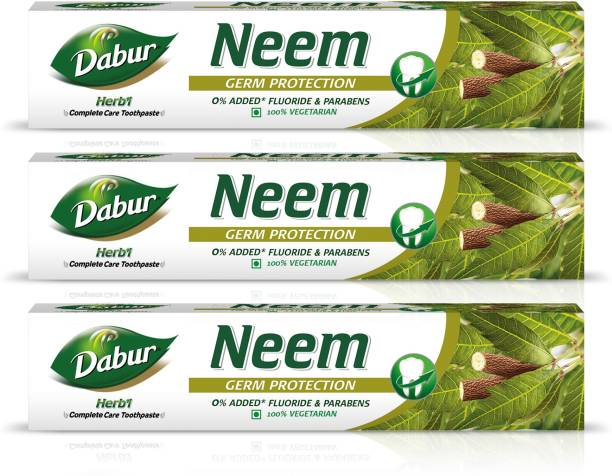 Dabur Herb'l Neem - Germ Protection Toothpaste Toothpaste
