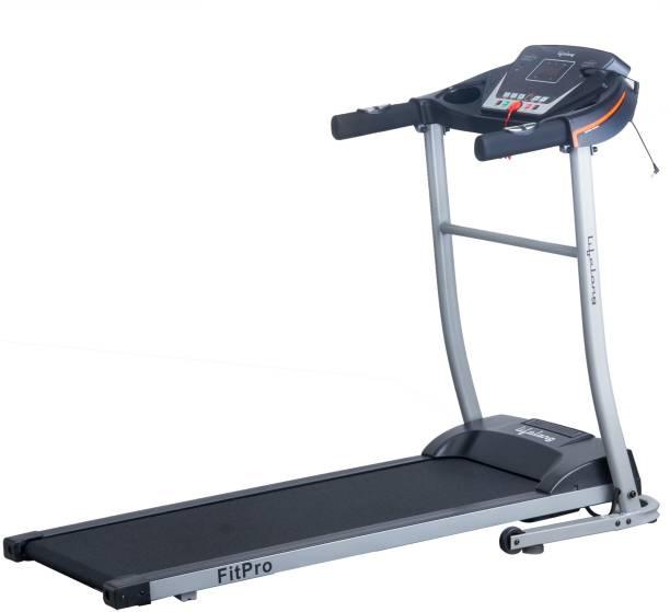Lifelong LLTM09 Fit Pro 2.5HP with Heart Rate Sensor, Motorized Treadmill
