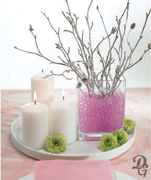 "Decent Glass Cube Square Vase Home Decorative Flower Glass Vase Party Table Centerpieces(4""×4""×6"") Clear Square Flower Vase Glass Vase"