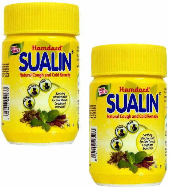 Hamdard Sualin tablet Natural Cough and Cold TABLETS- 120 Tablets