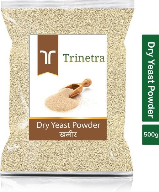 Trinetra Premium Quality Khameer (Dry Yeast)-500gm (Pack Of 1) Yeast Powder