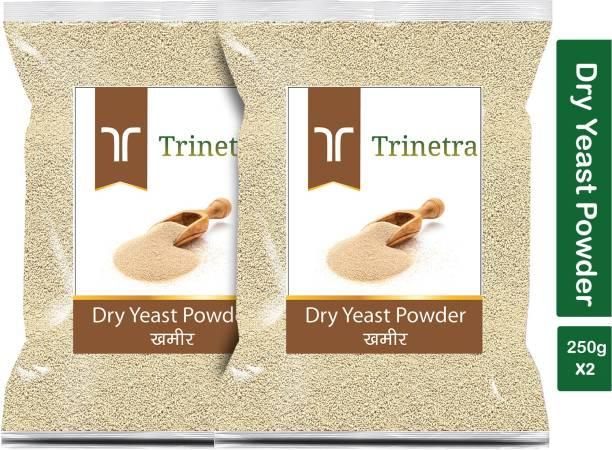 Trinetra Premium Quality Khameer (Dry Yeast)-250gm (Pack Of 2) Yeast Powder