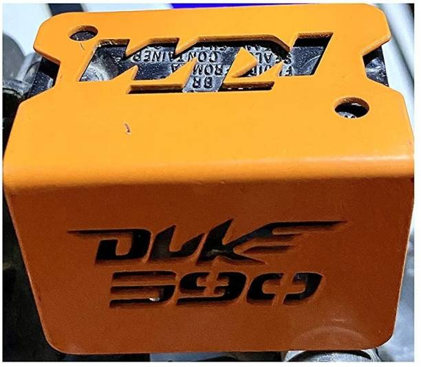 Qiisx Disc Brake Oil Pump Reservoir Cover on Handle bar Bike Crash Guard