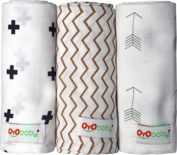 Oyo Baby Solid Single Swaddling Baby Blanket