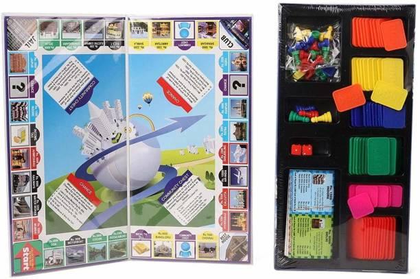 ARNIYAVALA 5 IN 1 BUSINESS BOARD GAME Strategy & War Games Board Game Educational Board Games Board Game