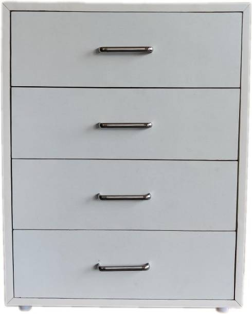 FurnDepot Engineered Wood Free Standing Cabinet