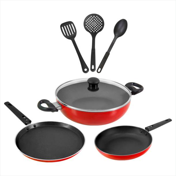 Butterfly Rapid 7P Set Indcution Bottom Cookware Set Induction Bottom Cookware Set
