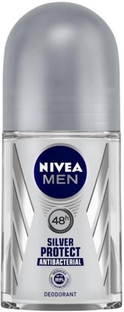 NIVEA Silver Protect Deodorant Roll-on  -  For Men