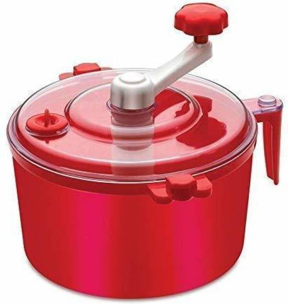 YDL Atta Maker Machine Non Electric red color | Dough Maker for women | Easy Atta Maker| Food Processor | Manual Flour processor/red color Plastic Detachable Dough Maker