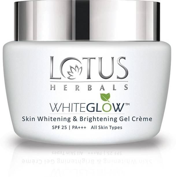 LOTUS HERBALS WhiteGlow Skin Whitening Brightening Gel Creme SPF-25 I PA+++