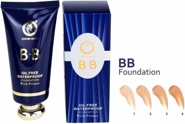 COLORS QUEEN Oil Free Primer With Foundation 3 In One Foundation