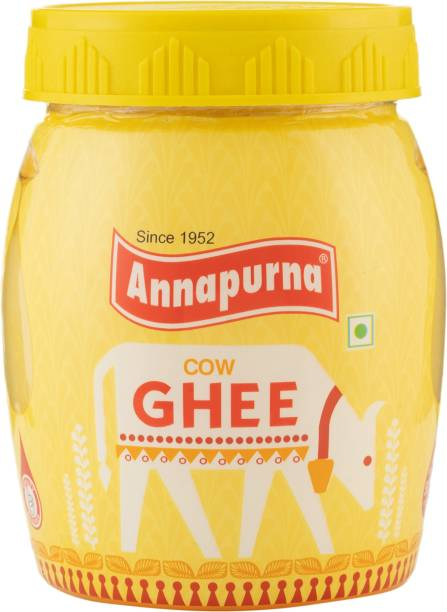 Annapurna Cow Ghee 500 ml Plastic Bottle