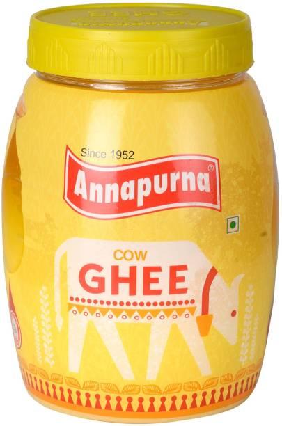 Annapurna Cow Ghee 1 L Plastic Bottle