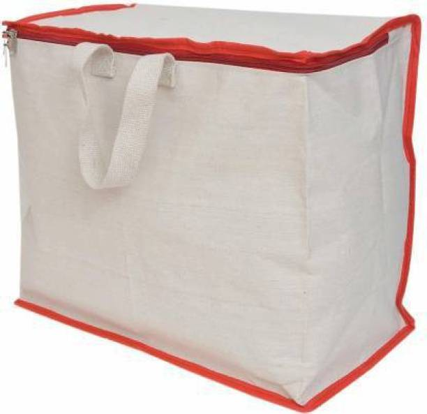 bagage Shopping Bag Pack of 1 Grocery Bags (White) Grocery Bag