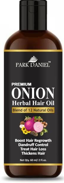 PARK DANIEL Premium Onion Herbal Hair Oil - For Hair Growth(60 ml) Hair Oil