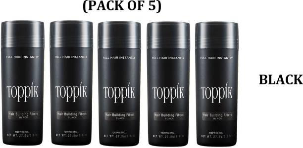 toppik Hair Fibers 27.5 gm Volumizers Hair Fibers 27.5 gm Volumizers Medium Hair Volumizer Hair Fibers