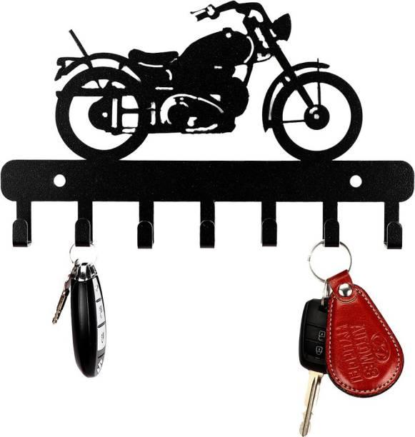 Sehaz Artworks Bike-Metal-Keyholder Steel Key Holder