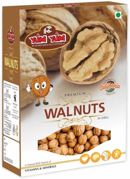 YUM YUM California Inshell Walnut 1kg Walnuts