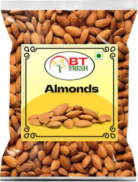 BT Fresh Premium Quality Natural Almonds Badam (250g) Almonds