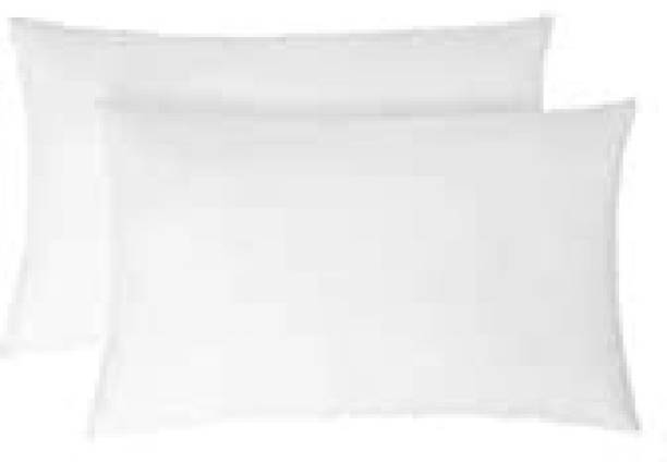 Neetu Traders Cotton Solid Sleeping Pillow Pack of 2