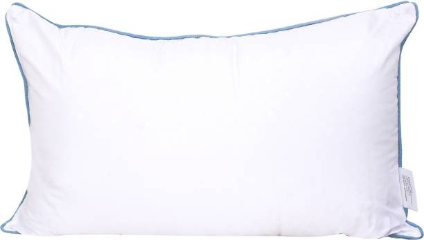 RECRON CERTIFIED Microfibre Solid Sleeping Pillow Pack of 1