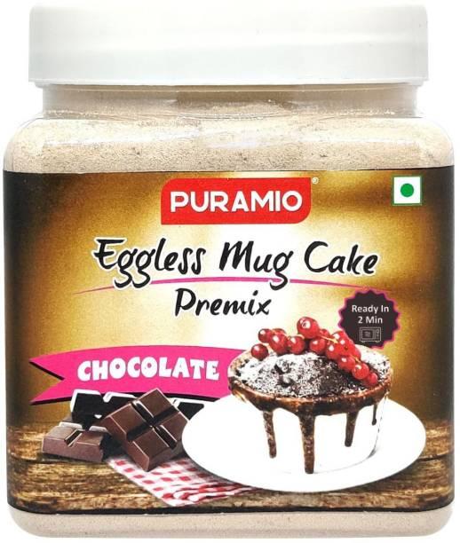 PURAMIO EGGLESS Chocolate Mug Cake Premix, 350 g