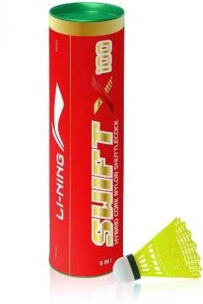 LI-NING Swift X100 Nylon Shuttle  - Yellow