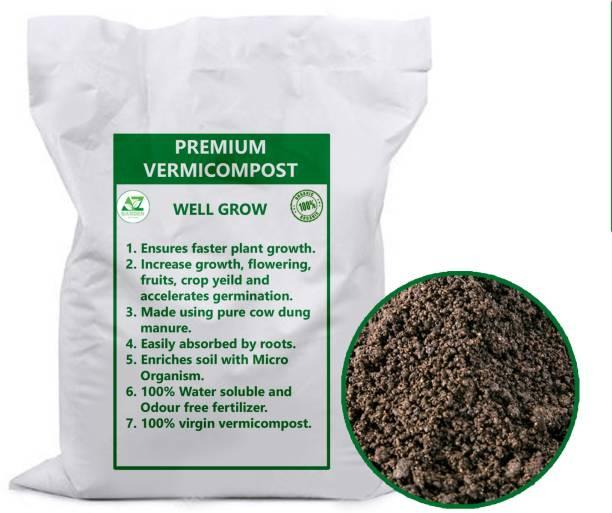 MyOwnGarden Enriched Vermicompost 5kg Premium Quality Worm Compost Manure