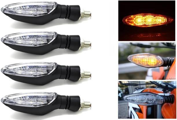 AutoPowerz Front, Rear LED Indicator Light for KTM RC 200, Duke 390, Duke 190, RC 390