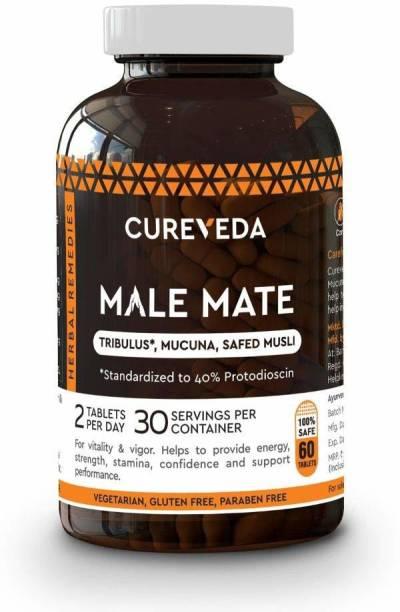 Cureveda Male Mate - Men's Wellness & Vitality - pack of 1