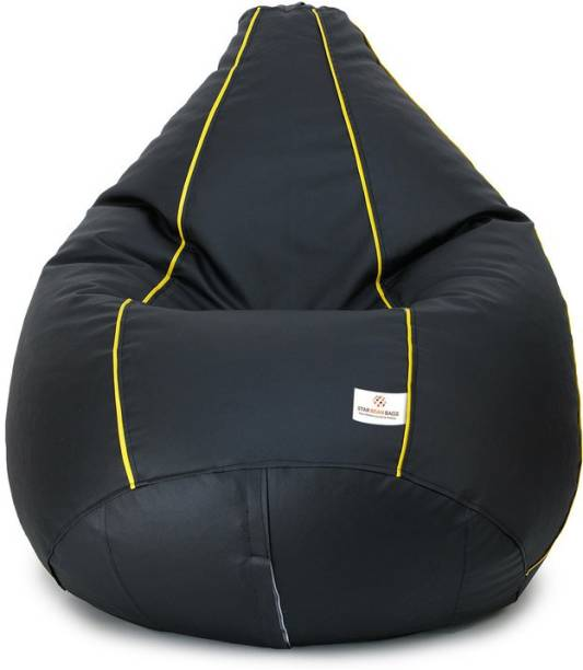 STAR XXL Tear Drop Bean Bag Cover  (Without Beans)