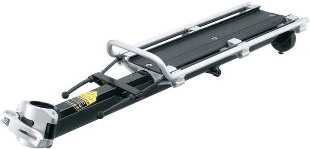 Xezon Bicycle Cargo Rack Quick Mount Universal Alloy Bicycle Carrier Adjustable Aluminium, Carbon Steel, Stainless Steel  Bicycle Carrier