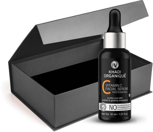 khadi ORGANIQUE Vitamin C Facial Serum for skin Lightening & whitening