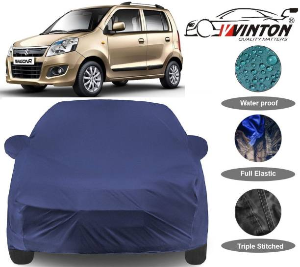 V VINTON Car Cover For Maruti Suzuki WagonR (With Mirror Pockets)