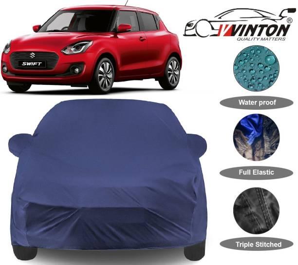 V VINTON Car Cover For Maruti Suzuki Swift (With Mirror Pockets)