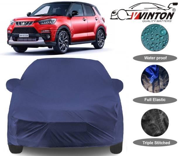 V VINTON Car Cover For Maruti Suzuki Vitara Brezza Facelift (With Mirror Pockets)