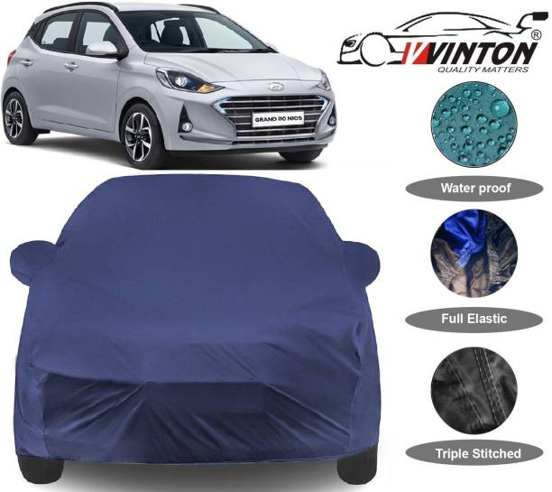 V VINTON Car Cover For Hyundai Grand i10 Nios (With Mirror Pockets)