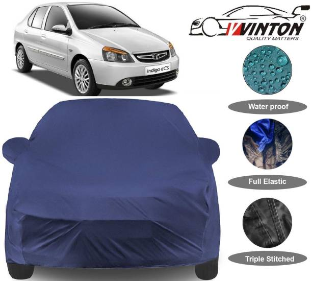 V VINTON Car Cover For Tata Indigo eCS (With Mirror Pockets)