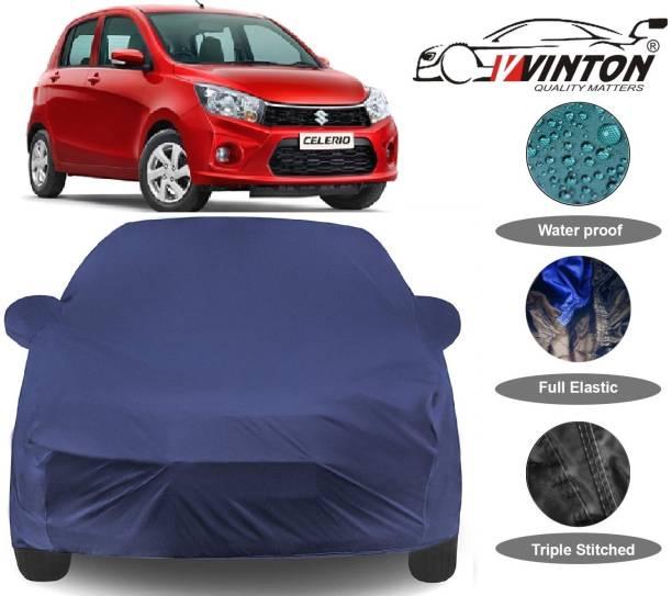V VINTON Car Cover For Maruti Suzuki Celerio (With Mirror Pockets)