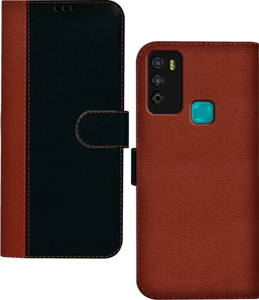 Hupshy Flip Cover for Infinix Smart 4 Plus