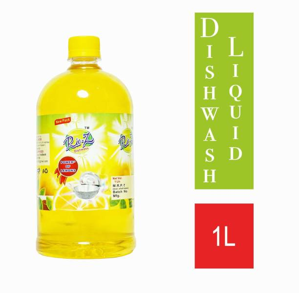 Rio-Ze Dish cleaning liquid 1ltr (pack of 1) Dish Cleaning Gel