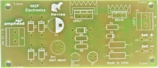 VASP Electronics 6v / 12v Emergency Light PCB Board Educational Electronic Hobby Kit