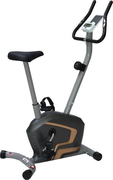 Powermax Fitness BU-400 Magnetic Upright Bike with iPad holder Upright Stationary Exercise Bike