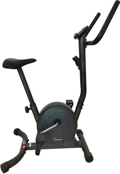 Powermax Fitness BU-300 Magnetic Upright Bike Upright Stationary Exercise Bike