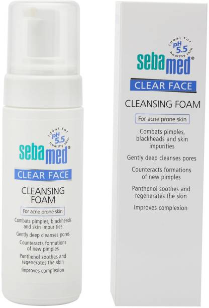 Sebamed Clear Face Cleansing Foam 150ml - Special Offer 6% Off Face Wash