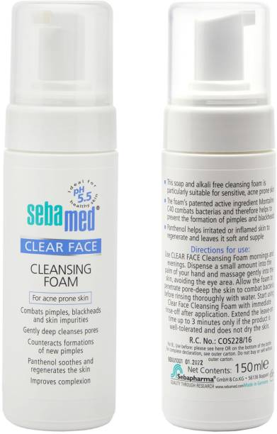Sebamed Clear Face Foam 150ml Face Wash