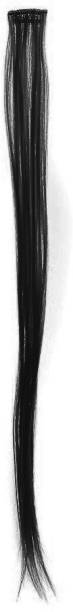 BELLA HARARO 1 Piece Clip  Extensions Clip In / On Synthetic  Extension Black Wig 10g/pc 22 Inch 1 pcs Hair Extension