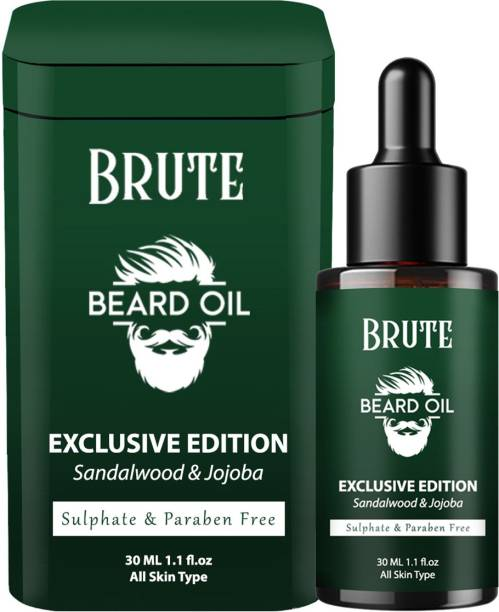 Brute Beard Growth Oil With Natural Ingredients Hair Oil