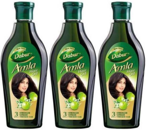 Dabur AMLA HAIR OIL 1350 ML (450*3)( PACK OF 3) Hair Oil