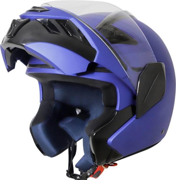 Steelbird TRX Flip Up Helmet, ISI Certified Helmet Motorbike Helmet